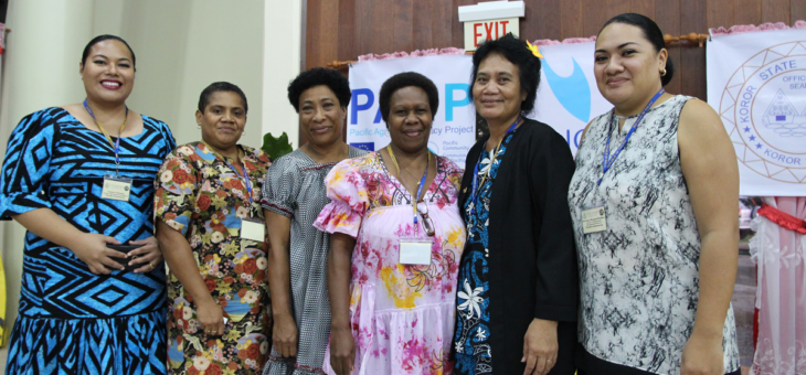 16 states of Palau are strengthening their Disaster Risk Management Plans