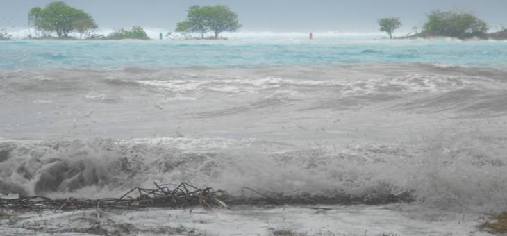 Tuvalu learns from Tropical Cyclone Pam for the future