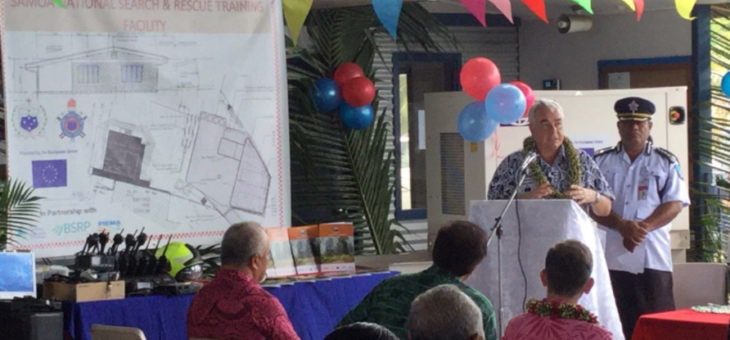Samoa Launches Fire Strategy