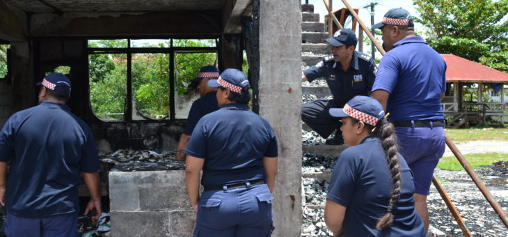 Samoa to strengthen emergency management capability with qualified fire investigators
