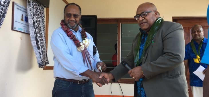 Vanuatu officially opens two Provincial Emergency Operations Centres in Malampa and Sanma