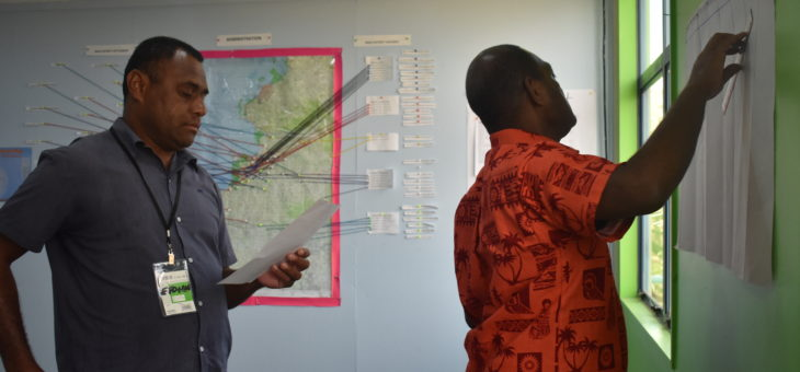 Fiji Emergency Operations Centres (EOCs) upgraded and officers trained in emergency management best practices