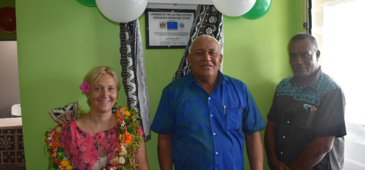 Refurbished Emergency Operations Centre to strengthen disaster response in Fiji