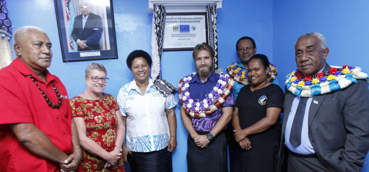 Refurbished Emergency Operations Centres to boost disaster response in Fiji