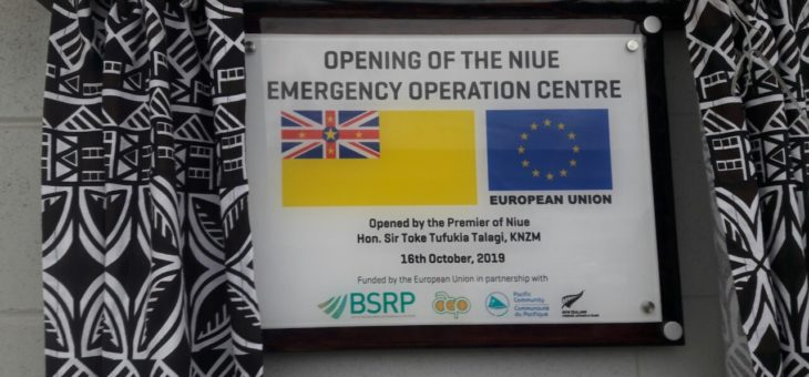National Emergency Operations Centre opens in Niue